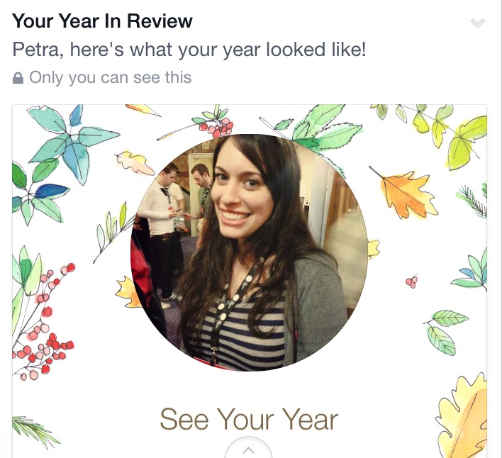 My Facebook Year in Review
